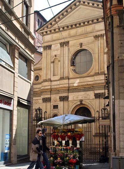 facciata esterna di Santa Maria presso San Satiro