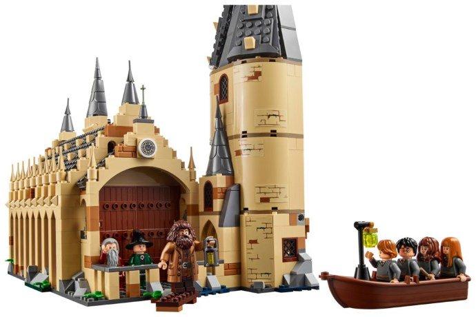 Lego Harry Potter - La Sala Grande di Hogwarts - tutti i personaggi