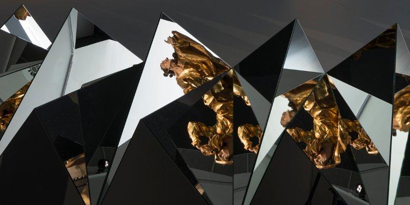 Specchi, Sanguine. Barocco. Fondazione Prada. Milano
