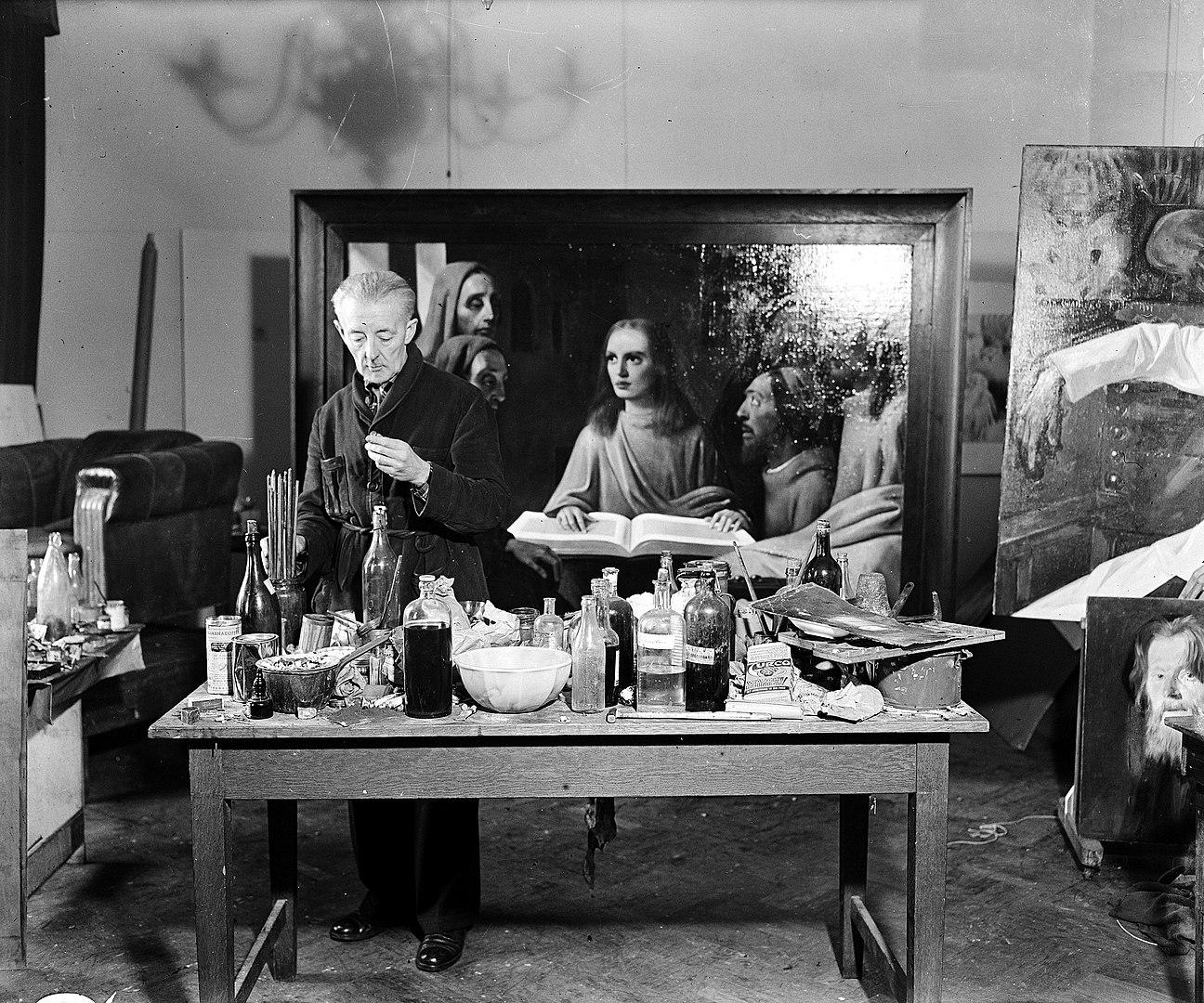 Han van Meegeren nel 1945