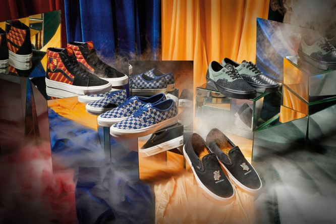 vans - harry potter - stringate e slip on