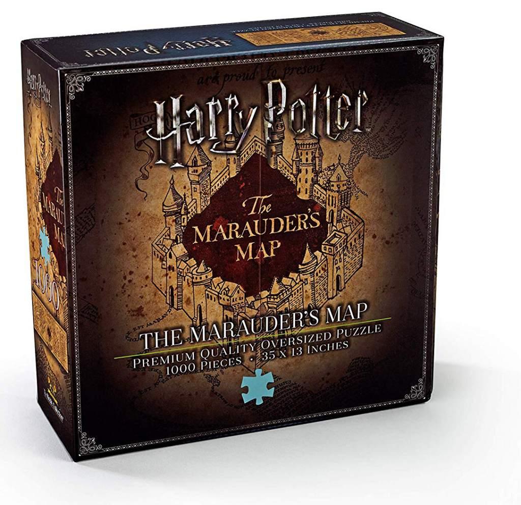 Harry potter, scatola del puzzle della Mappa del Malandrino