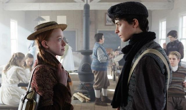 Anna e Gilbert Blythe