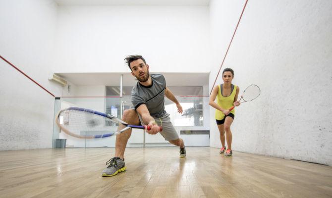 partita di squash