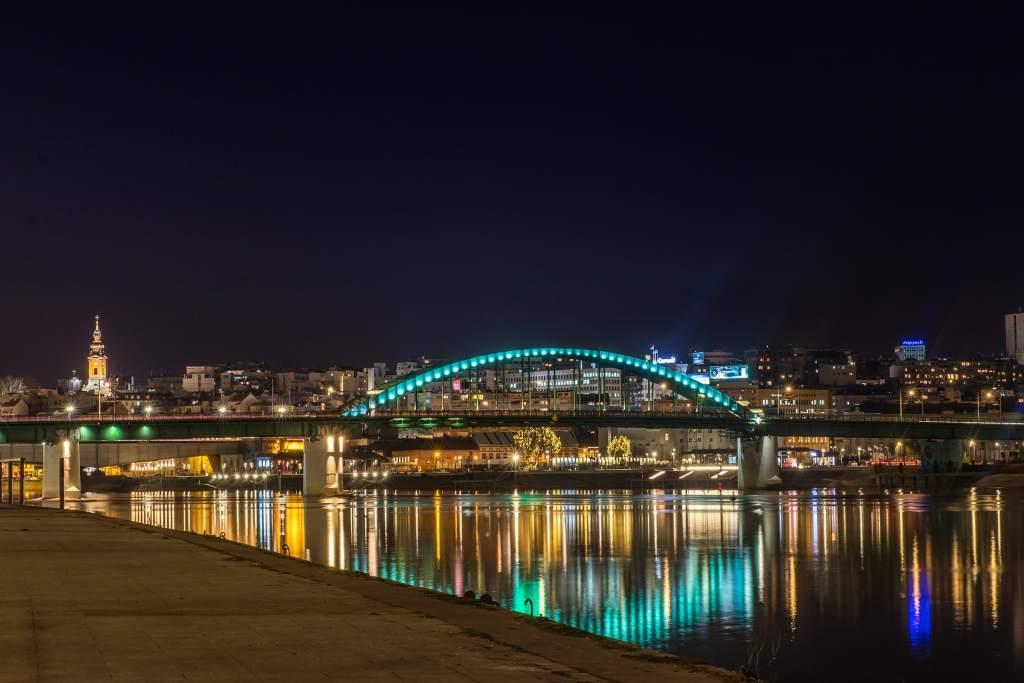 Belgrade-by-night