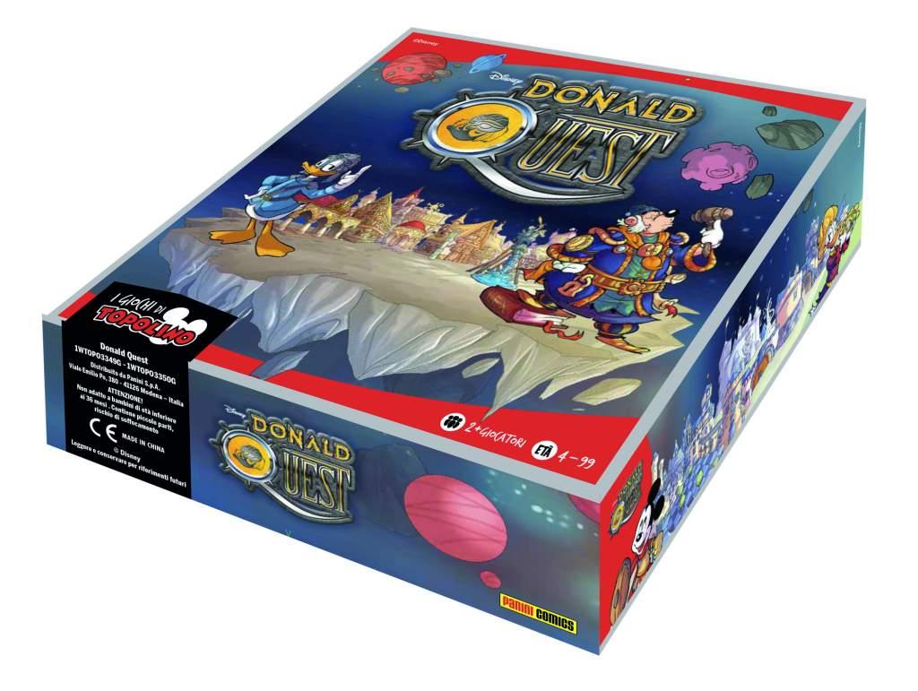 confezione gioco Donald Quest