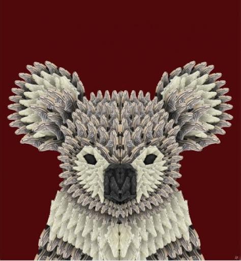 """L'opera """"Koala"""" di Alessandro Malossi"""