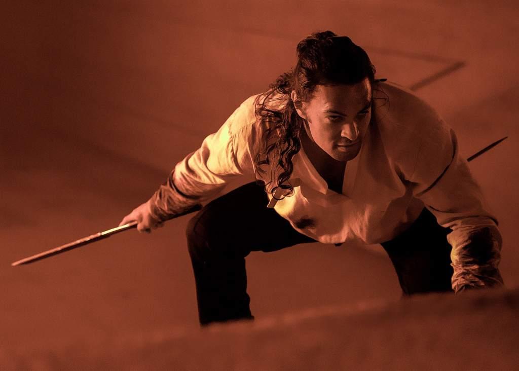 Jason Momoa nei panni di Duncan Idaho nel film Dune