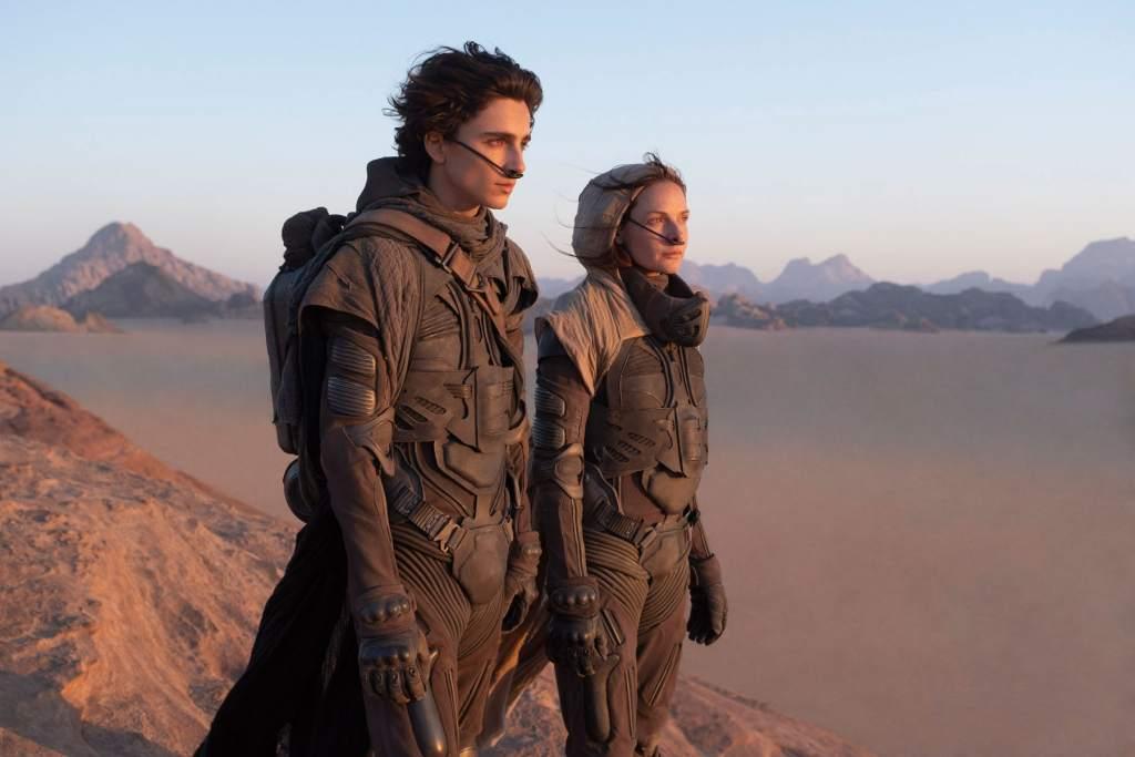 Timothée Chalamet e Rebecca Ferguson in Giordania per girare il film Dune