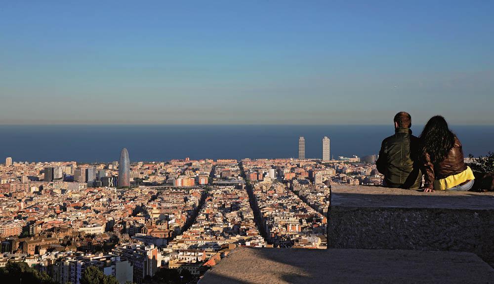 Barcelona des dels Bunkers del Carmel_Turisme de Barcelona