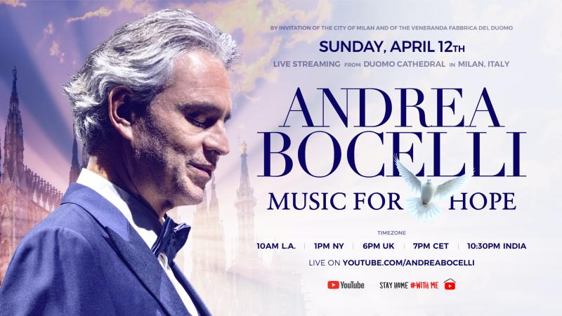 Andrea Bocelli concerto