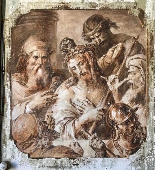 Francesco Podesti, Gesù deriso e incoronato di spine