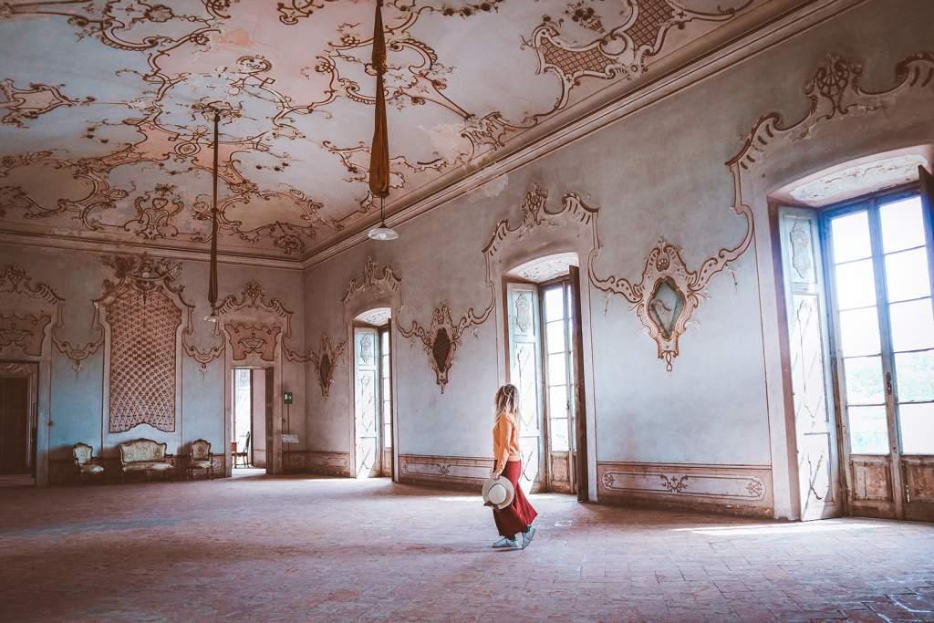 sala da ballo villa arconati