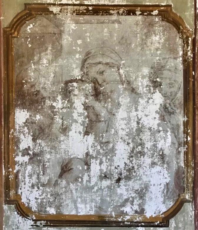 Francesco Podesti, Madonna con Gesù Bambino, San Giuseppe e Sant'Anna