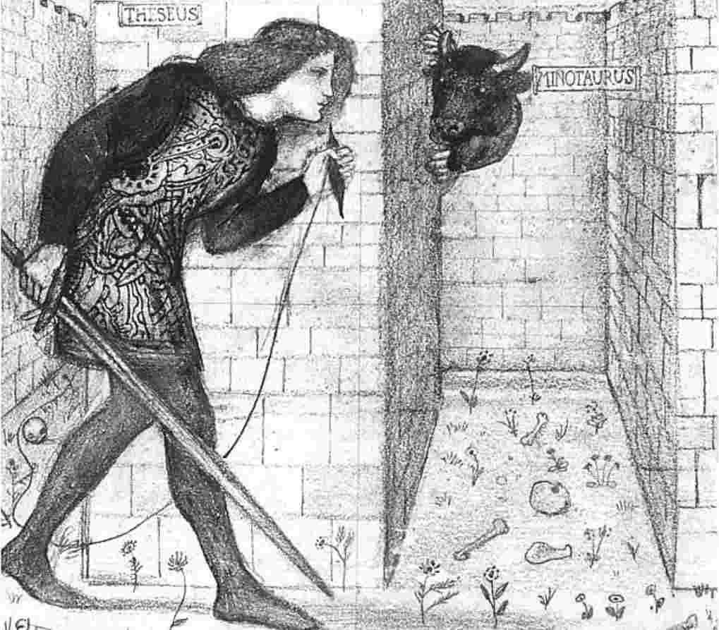 minotauro arianna filo