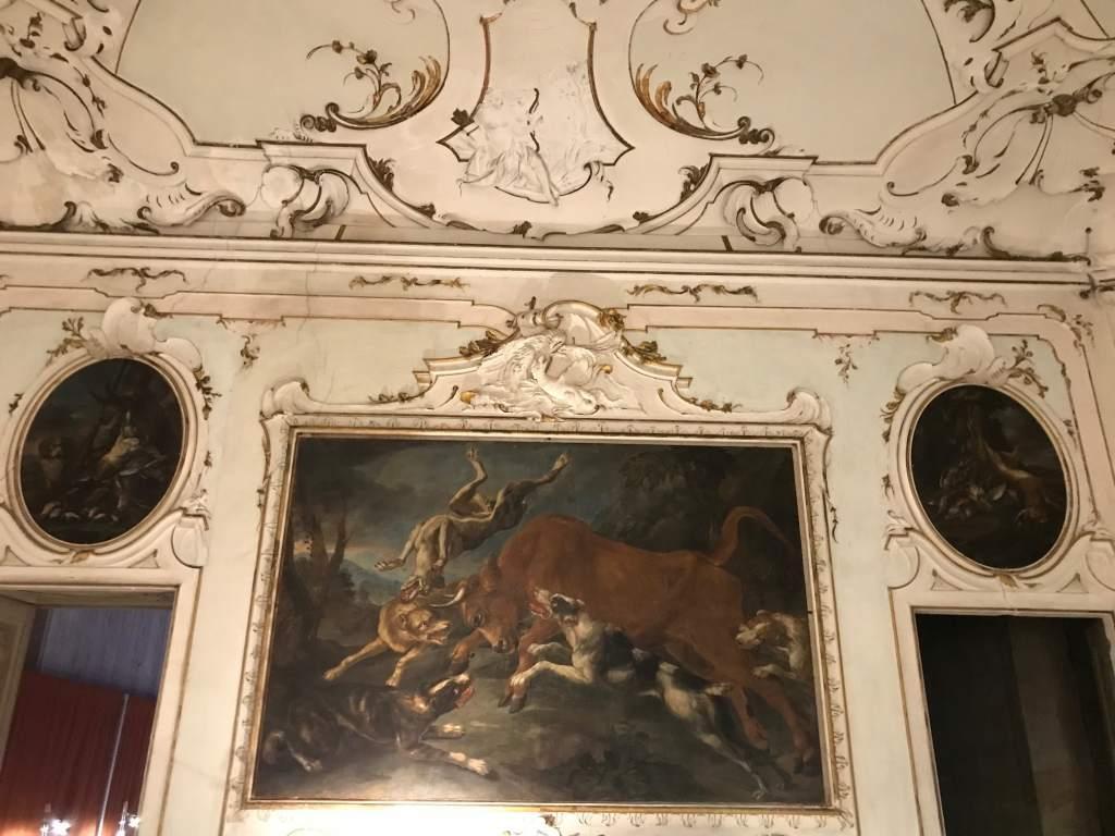villa arconati sala della caccia