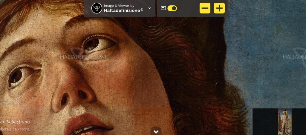 San Sebastiano, dettaglio, Antonello da Messina