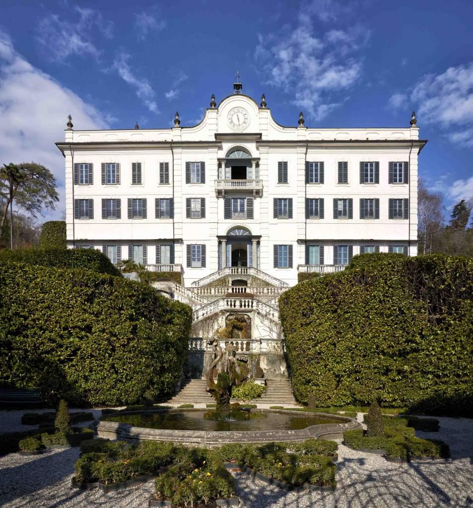 Villa Carlotta, Tremezzo, facciata