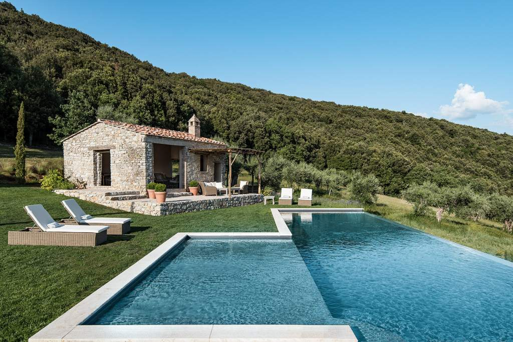 Airbnb case con piscina