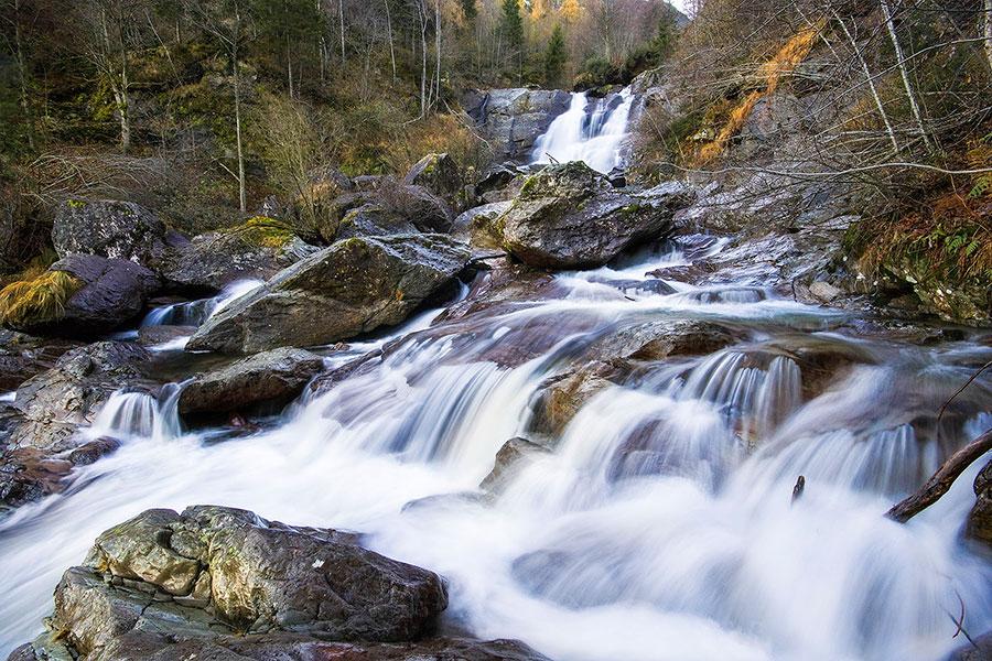 torrente vertova in Val Vertova