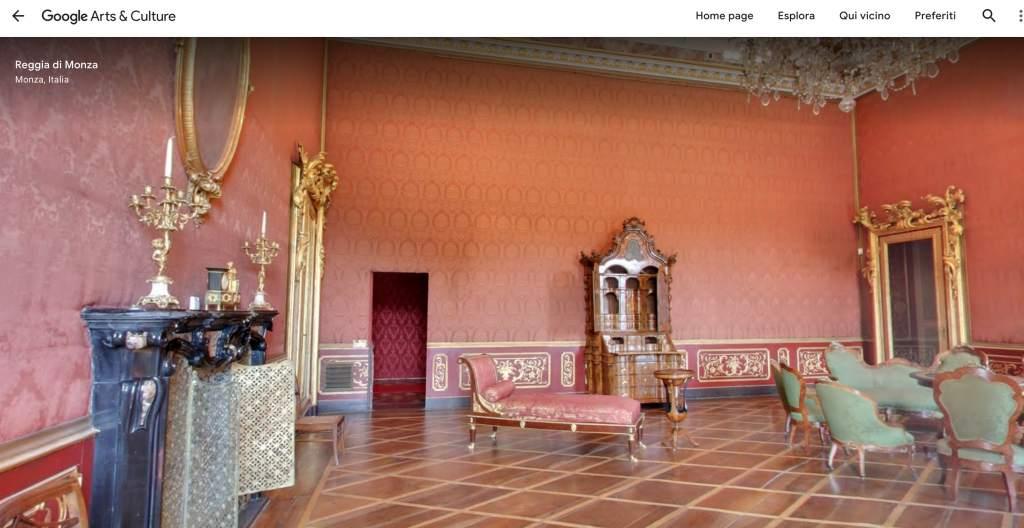 salotto Villa Reale Monza