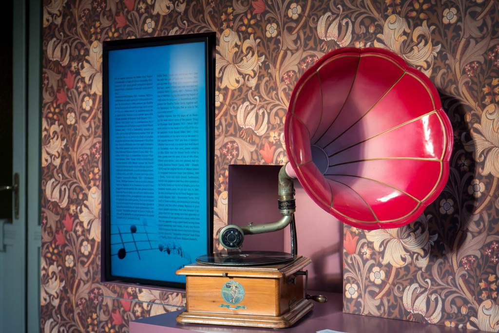Villa Bernasconi grammofono