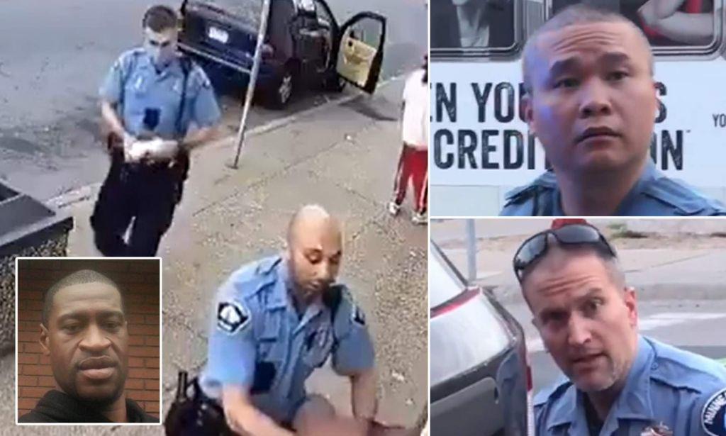 i poliziotti incriminati e arrestati