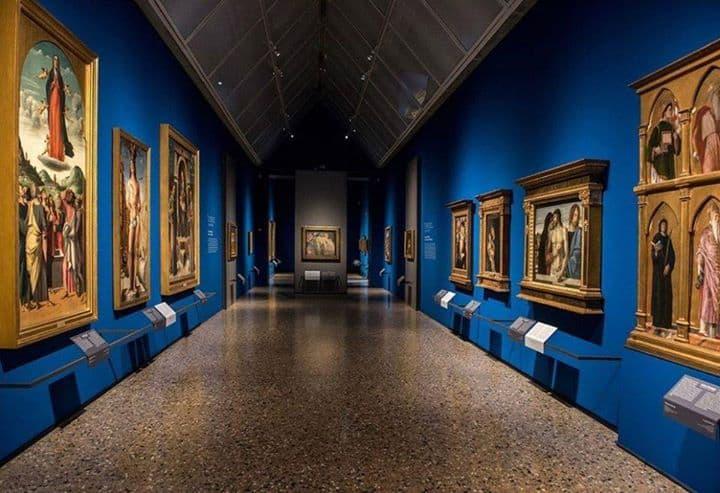 corridoio della Pinacoteca di Brera