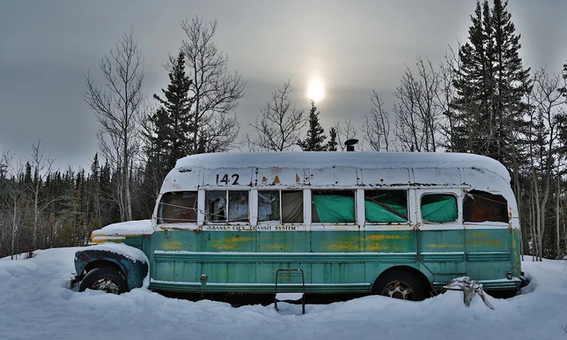 bus into the wild