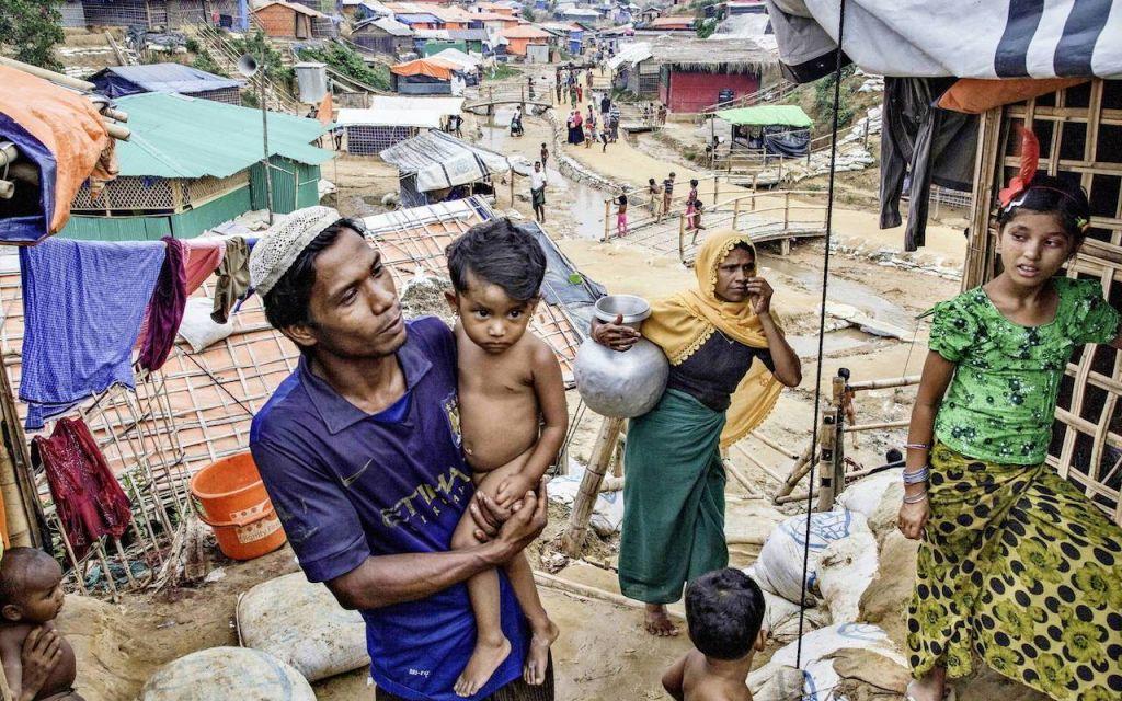 Campo profughi Rohinya in Bangladesh