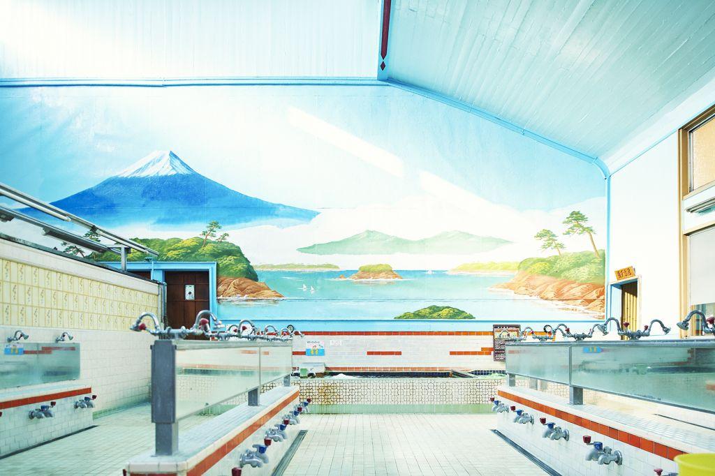 Sento interno bagno pubblico Tokyo