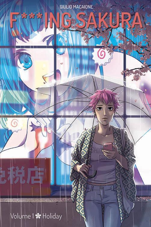 F***ing Sakura graphic novel Giappone relazione cover