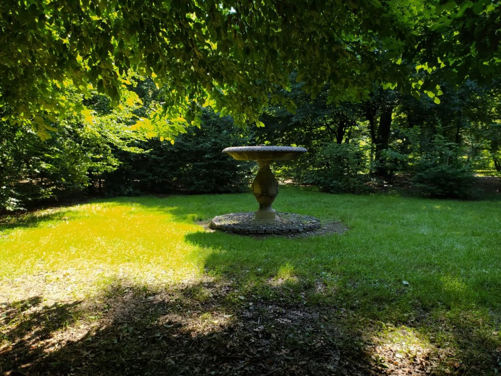il giardino e le fontane di villa arconati