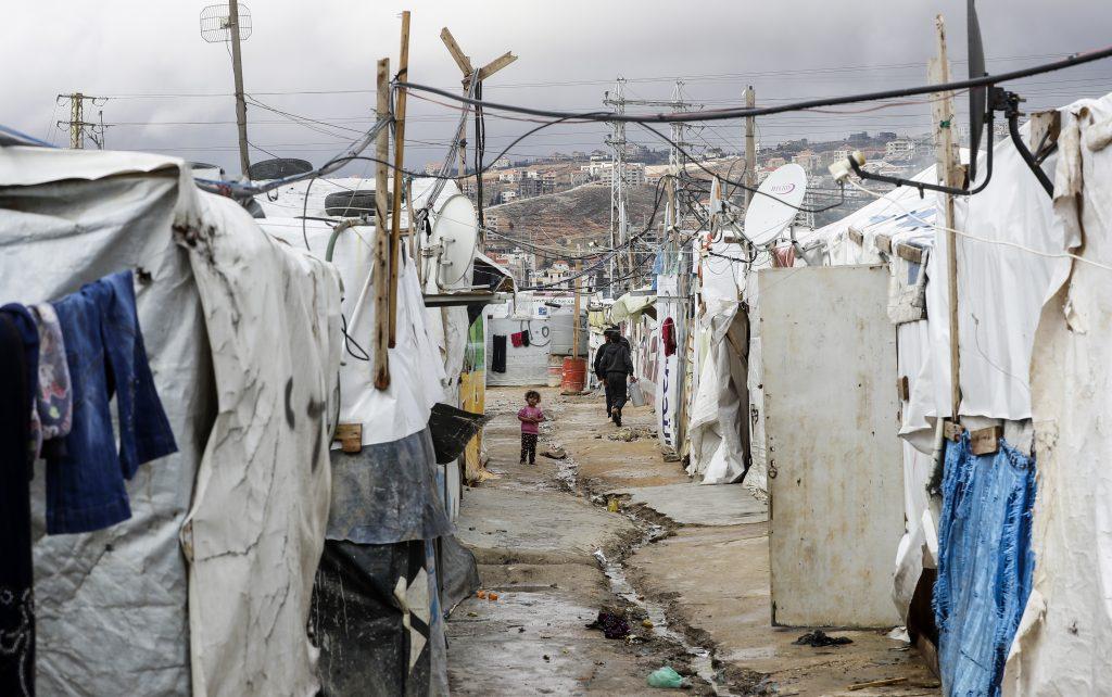 campo profughi siriani in Libano