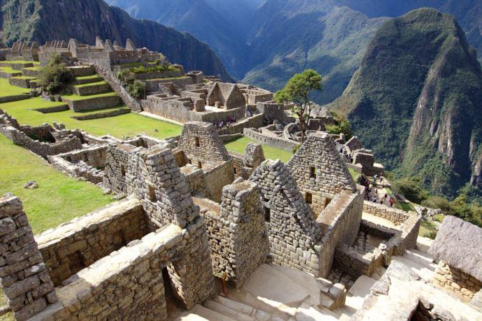 Machu Picchu alcune parti delle rovine