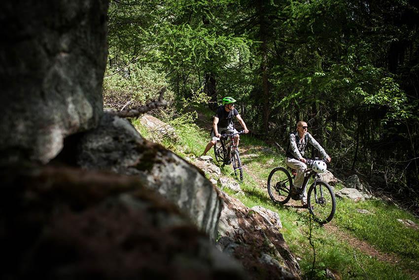 COURMAYEUR MONT BLANC mountain bike
