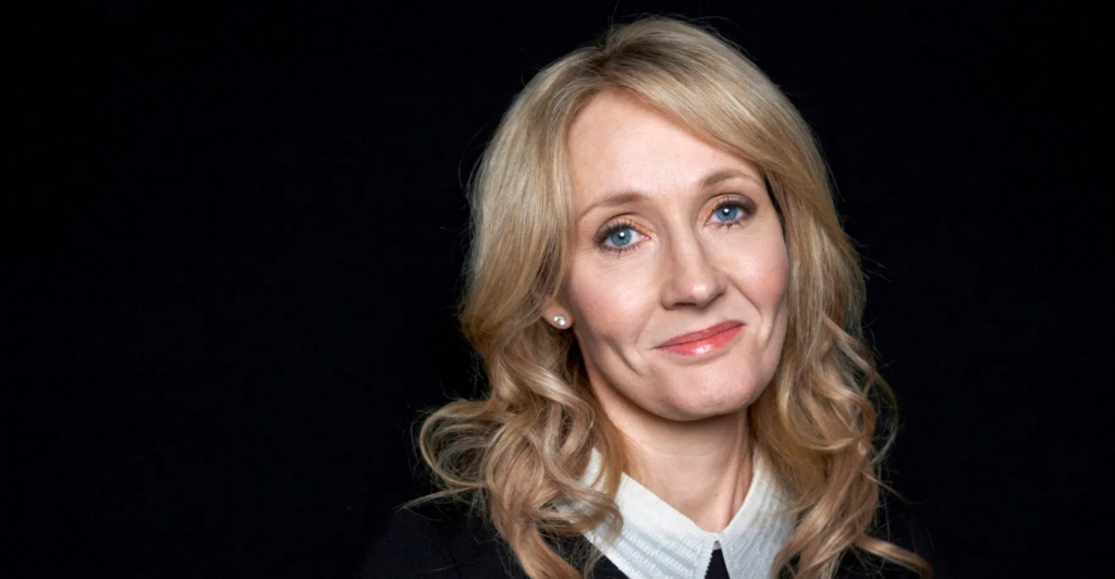 J.K. Rowling primo piano