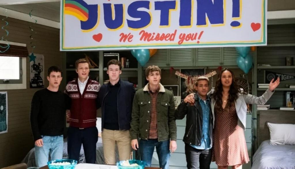 13 reasons why festa per Justin