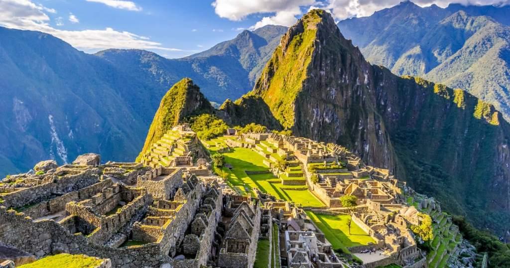 Machu Picchu vista dall'alto