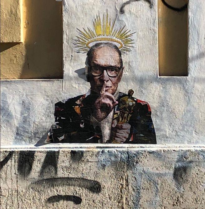 murale atrastevere di ennio morricone