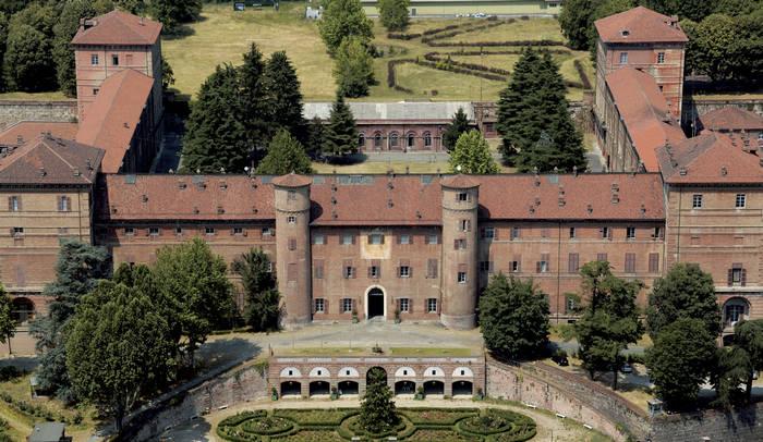 vista dall'alto del Castello di Moncalieri