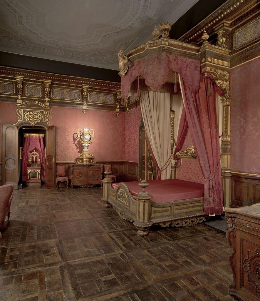 Castello di Moncalieri_Camera da letto della Regina