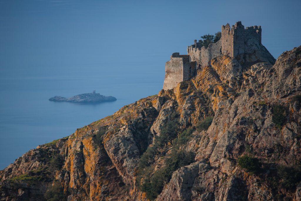 vista aerea della Fortezza