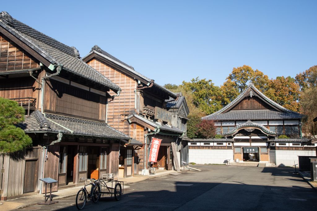 Edo-Tokyo Open Air Architectural Museum vista frontale
