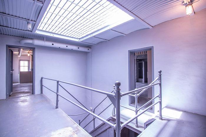 vista dell'interno del carcere nella casa in Missuri