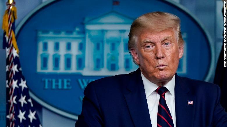 primo piano di Donald Trump Trump nominato per il Nobel