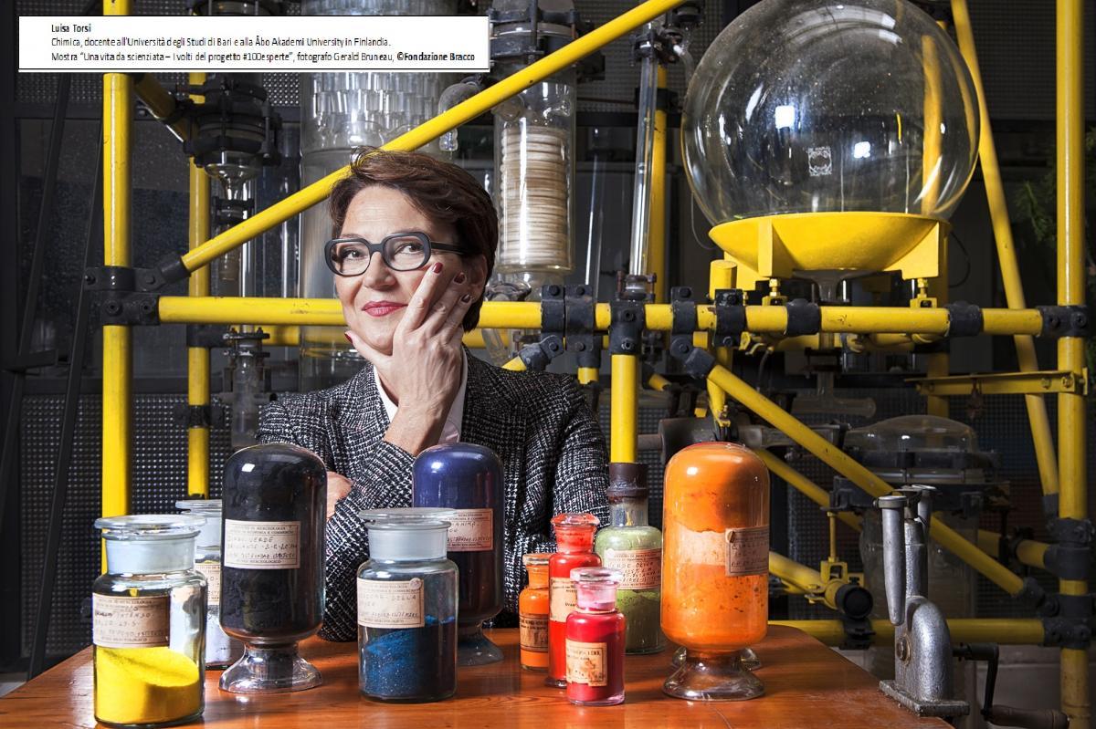 una foto della mostra Una vita da scienziata, Luisa Torsi