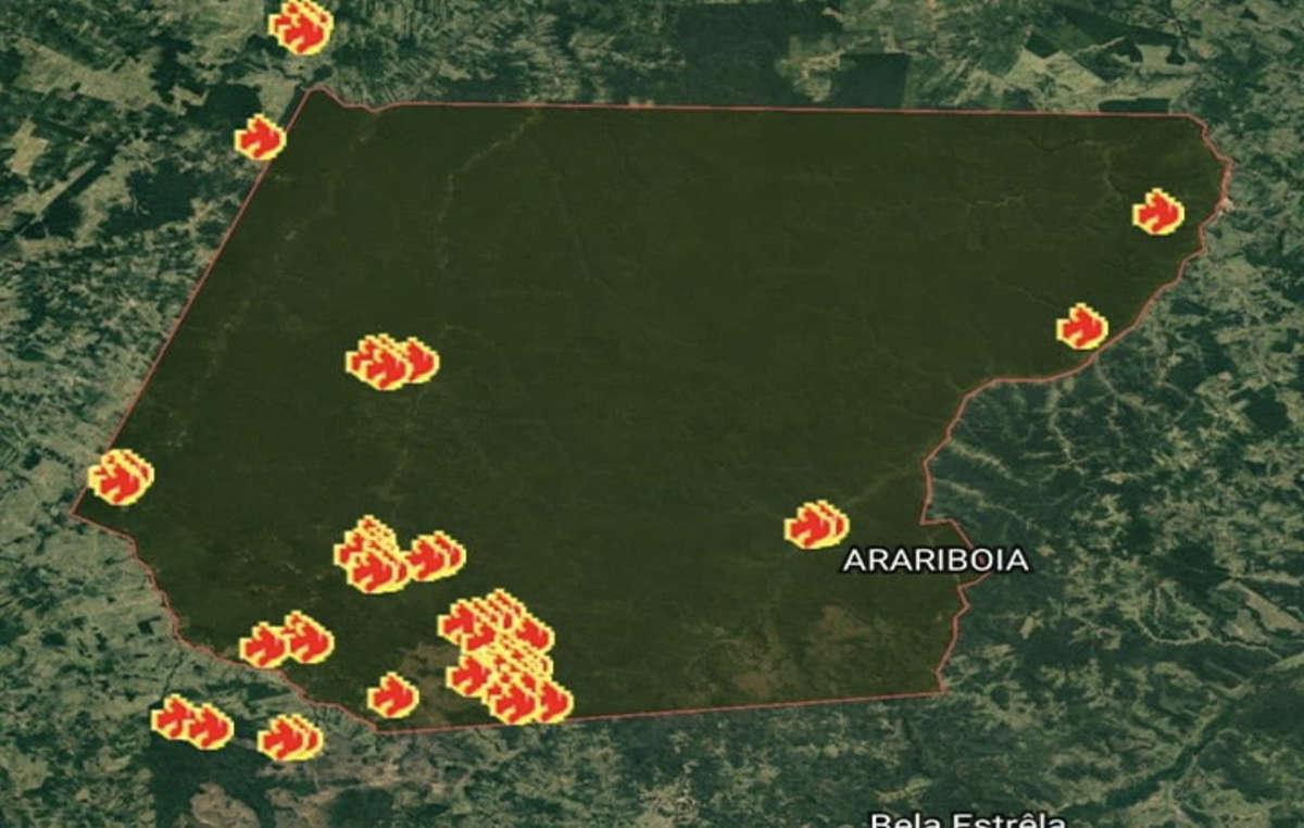 Amazzonia le fiamme si espandono nei territori delle tribù incontattate cartina degli incendi