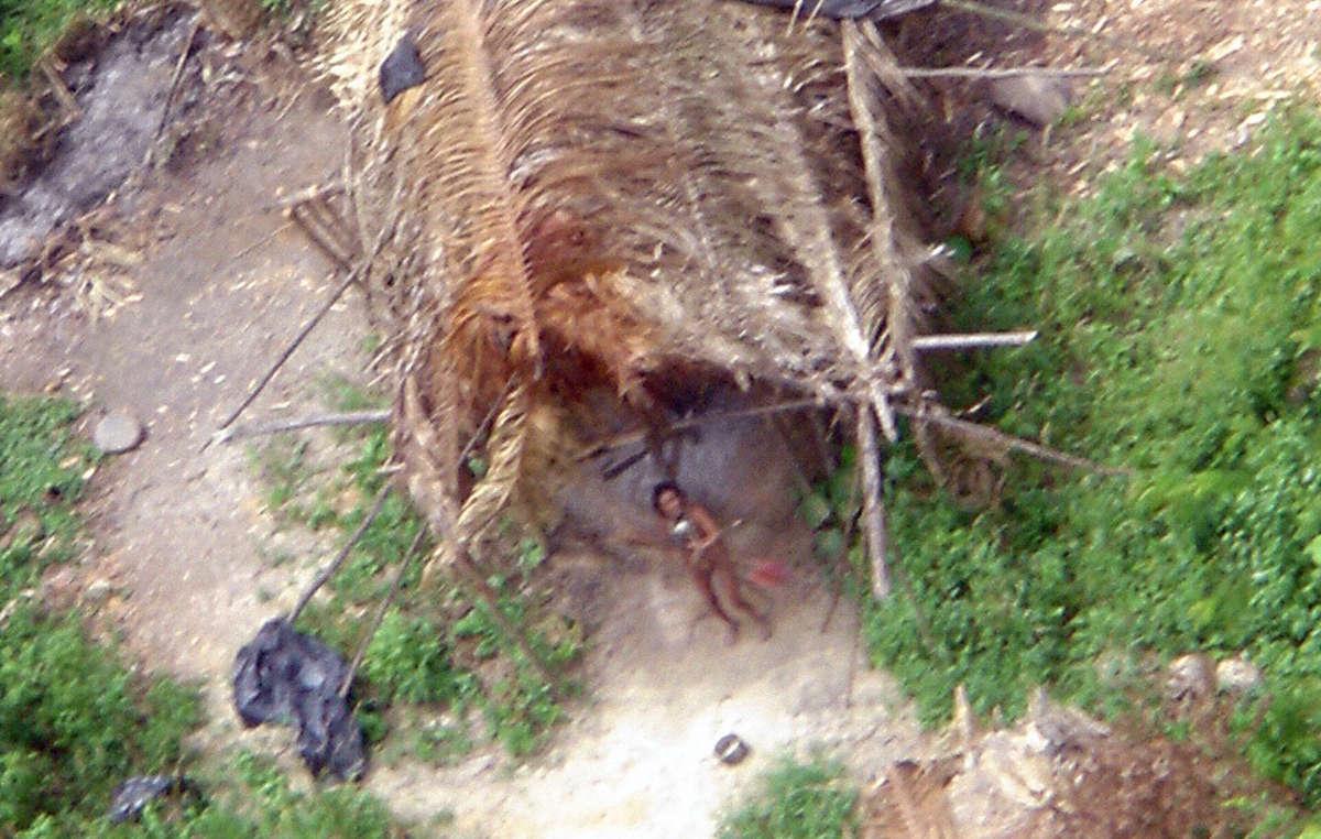 Amazzonia le fiamme si espandono nei territori delle tribù incontattate un'abitante di una trubù