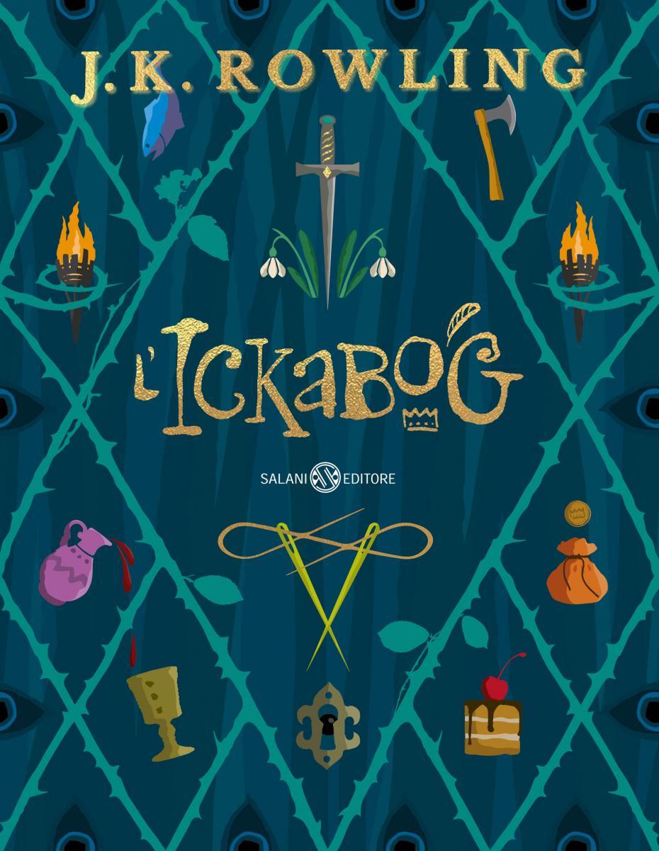 J.K. Rowling L'Ickabog copertina libro